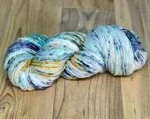 Eye of the Storm - Hand Dyed Yarn - SW Merino Wool/Nylon (80/20) Fingering/Sock Weight