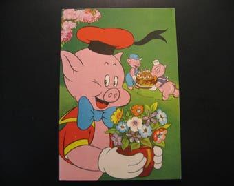 "Vintage Postcard Walt Disney Productions ""Donald Duck"" © 1959 Amsterdam..."