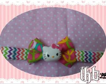 Hello Kitty Rainbow Peace Hairband