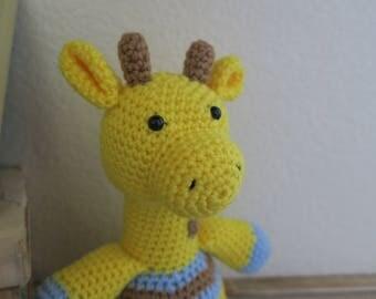 Crochet Giraffe Baby Boy