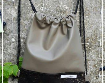 Twins bag in Black Cork