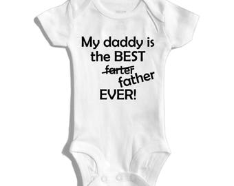Best dad ever shirt - Fathers day gift - Fathers day - First fathers day - 1st fathers day - New dad gift - Dad and baby matching shirts