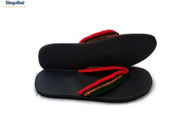 Men Rasta Sandals