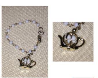 On Sale Delicate Vintage Teapot Bracelet