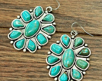 Athentic turquoise earrings