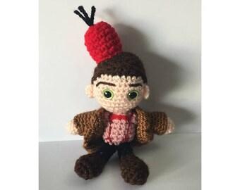 Eleventh Doctor Amigurumi Crochet Doll