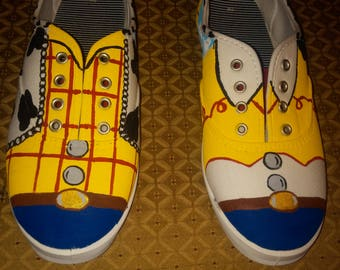 Toy Story handpainted shoes
