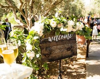 Custom - Wedding Welcome Sign