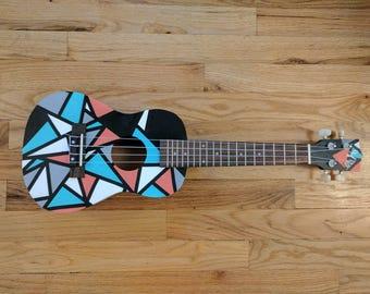 Concert Size Hand Painted Prism Ukulele