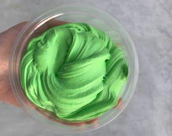 Green Fluffy Slime