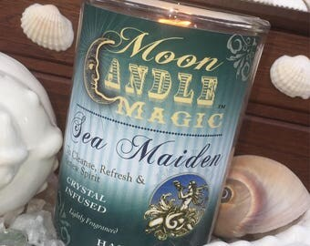 Spells~Spell Candle~Mermaid Candle~Sea Maiden~Magic Candle~Witchcraft Candle~Witch Candle~Wiccan Candle~Ritual Candle~Herb Candle~Magic Tool