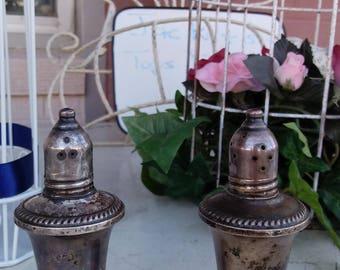 Vintage Duchin Creation weighted silver salt and pepper shaker set