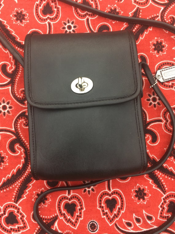 Coach Bag Vintage Coach Side Pocket Crossbody Bag