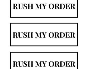 RUSH MY ORDER | Fast Shipping | Rush My Order