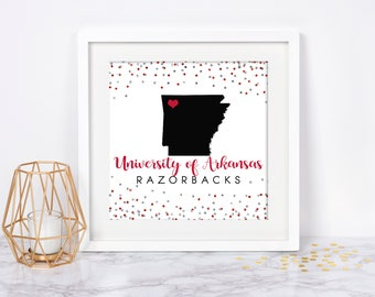 University of Arkansas Printable