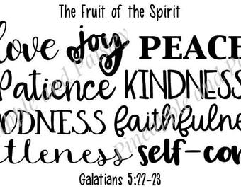 Fruit of the Spirit SVG