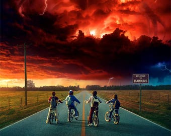 Stranger Things 2 2017 Poster