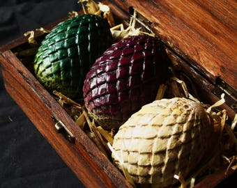 Game of Thrones Targaryen Dragon Eggs Set Miniature Costume Prop