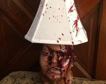 Horror lamp