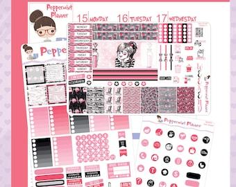Mini H Planner --- Planner Girl Weekly Set --- #07