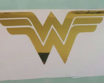 Wonder Woman Decal Etsy - Motorcycle helmet decals for women