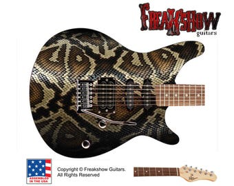 SNAKE Electric Guitar - Free US Shipping - Freakshow Guitars
