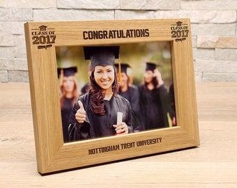 Graduation 7x5 Personalised Photo Frame.