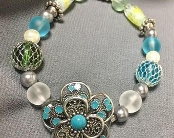 Aqua Steel Bracelet