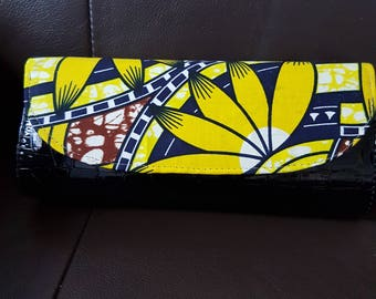 ankara clutch/purse