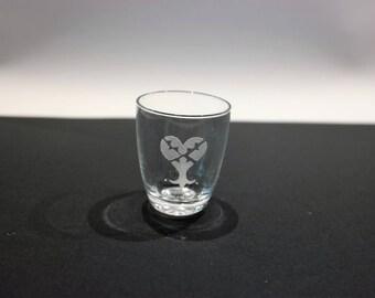Glass shooter Kingdom Hearts - heartless