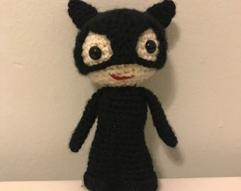 Cat Woman Amigurumi