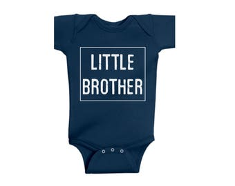 Little Brother Customized Onesie