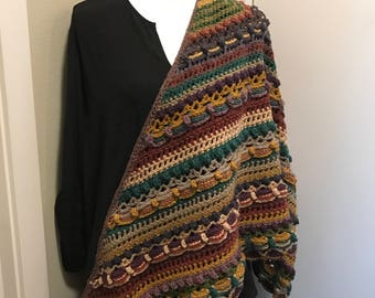Lost in Time Shawl, wrap, scarf
