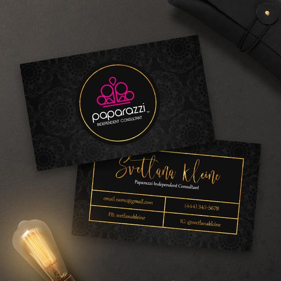 Do vistaprint business cards have their logo on gallery for Vistaprint gold foil