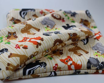 Animals: bags snack, sandwich bags, washable, reusable, eco-friendly, minimalist