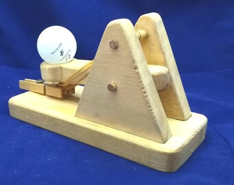 how to build a ping pong ball catapult