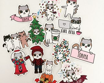 IttyBitty Kitty Diecut - Banner, Girlboss, New Years, Christmas - Exclusive diets