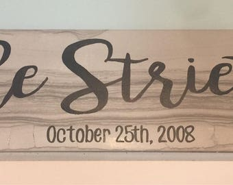 Personalized Ceramic Tile Sign