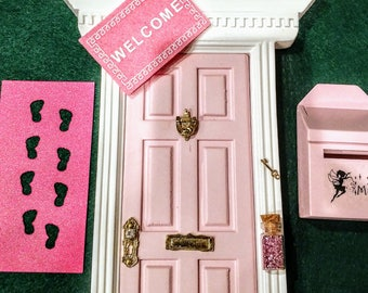 Miniature door etsy for Fairy door with key