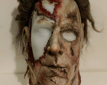michael myers replica mask rob zombie halloween 2 the giant - Rob Zombie Halloween Mask For Sale