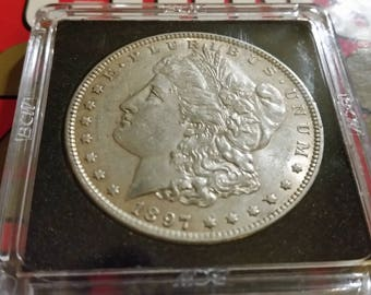 1897 Morgan  Silver  dollar