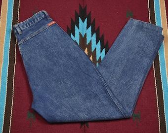 Vintage High Waisted Blue Jordache Jeans
