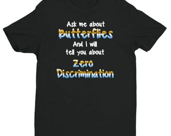 Zero Discrimination Tshirt For Supporters Of Individuality