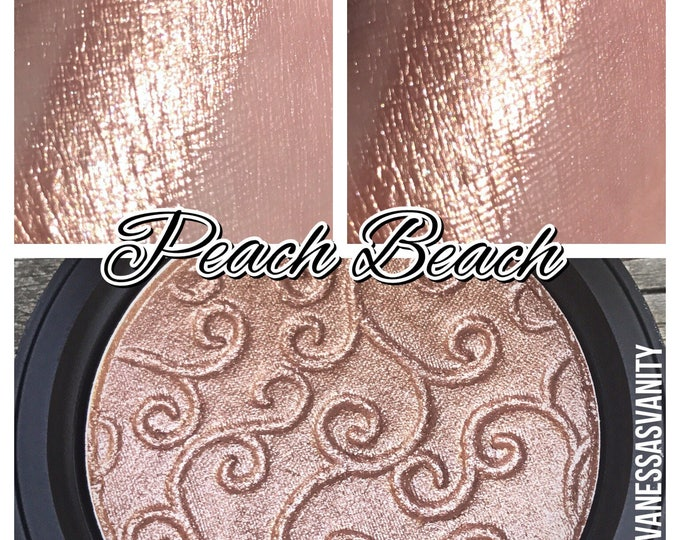 PEACH BEACH - Pressed Highlighter - Nude Peach