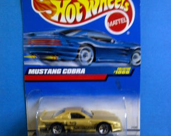 Hot Wheels #1066 Ford Mustang Cobra  new on card