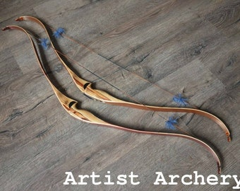Traditional hunter bow