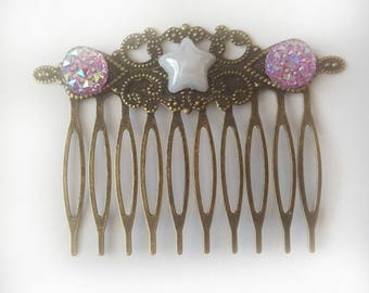 Hair comb | princess hair accessory | gift for girl