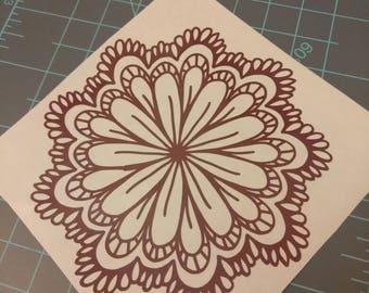 Flower Decal