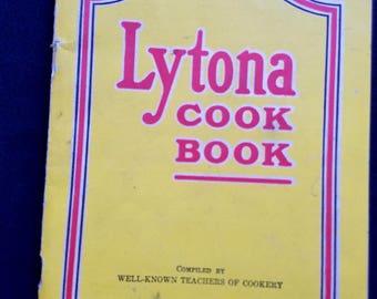 Lytona Baking Powder Cook Book Vintage Recipes 1930s Rumford Chemical Works