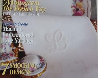 Sew Beautiful  Magazine Issue No.75 2001 With Martha Pullen